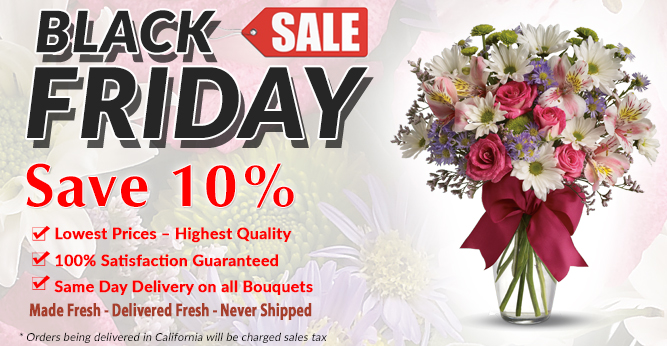 Black Friday Flowers