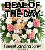 Fresh Funeral Standing Spray
