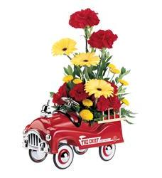 Teleflora's Fire Engine Bouquet (05J100B)