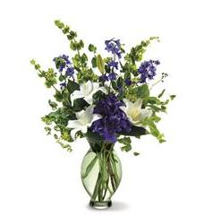 Teleflora's Green Inspiration Bouquet (07R120B)