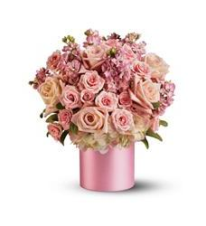 Teleflora's Pinking of You Bouquet (08N230B)