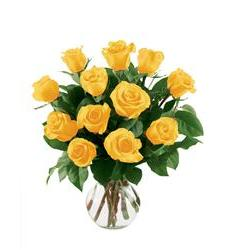 12 Yellow Roses (12YLROSE)
