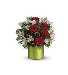 Teleflora's Christmas Cheer Bouquet (T124-1A)