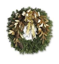 Glitter & Gold Wreath (T130-1A)