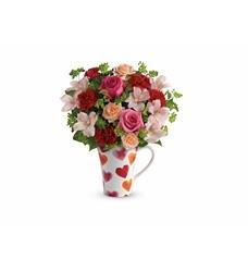 Teleflora's Hearts And Hugs Bouquet (T16V305A)