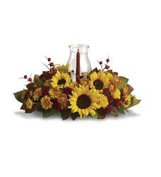 Sunflower Centerpiece (T170-1A)