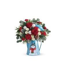 Teleflora's Frosty Enchantment Bouquet (T18X305A)