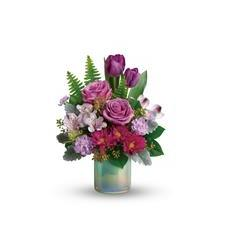 Teleflora's Art Glass Garden Bouquet (T19E300A)