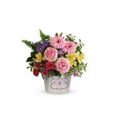 Teleflora's Backyard Butterfly Bouquet (T19M205A)