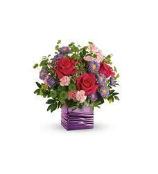 Teleflora's Lavender Waves Bouquet (T19M405A)
