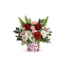 Teleflora's Pop Hearts Bouquet (T19V405A)