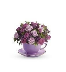 Teleflora's Cup of Roses Bouquet (T210-2A)