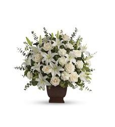 Teleflora's Loving Lilies and Roses Bouquet (T216-1A)