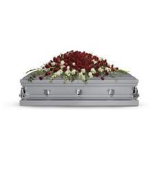 Garden of Grandeur Casket Spray (T226-3A)