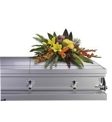 Island Memories Casket Spray (T244-3A)