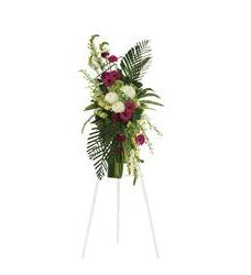 Gerberas and Palms Spray (T246-3A)