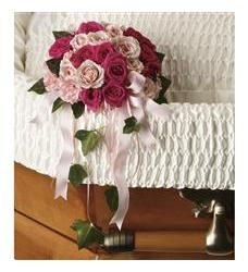 Rose Reflection Casket Insert (T259-2A)