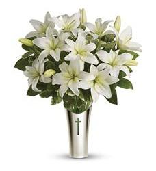 Teleflora's Sacred Cross Bouquet (T263-2A)