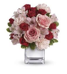 Teleflora's Love That Pink Bouquet (T409-3A)