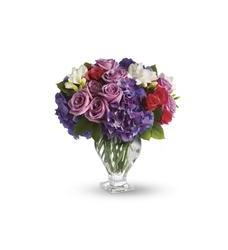 Teleflora's Rhapsody in Purple (T51-1A)