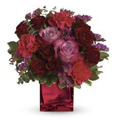 Teleflora's Ruby Rapture Bouquet (TEV23-1A)