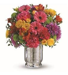 Teleflora's Pleased As Punch Bouquet (TEV31-1A)
