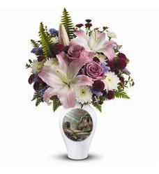 Thomas Kinkade's Moments Of Grace by Teleflora (TEV35-1A)