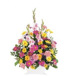 Spring Remembrance Basket (TF186-1)