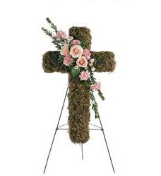 Pink Bouquet Cross (TF198-2)