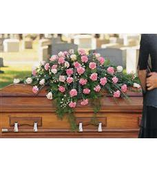 Heavenly Pink Casket Spray (TF199-2)
