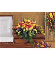 Celebration of Life Casket Spray  (TF203-7)