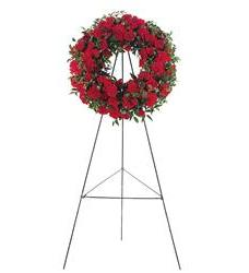 Red Regards Wreath  (TF207-3)