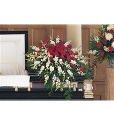 Cherished Moments Casket Spray  (TF207-6)