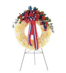 Patriotic Spirit Wreath  (TF215-1)