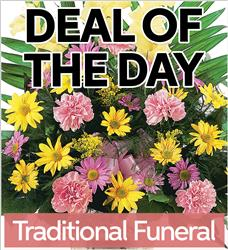 Fresh Traditional Funeral Flowers (TFF-DEAL1)