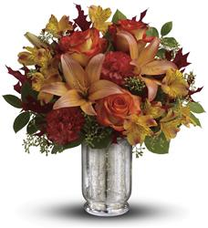 Teleflora's Fall Blush Bouquet (TFL08-1A)