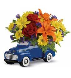 Vintage Ford Pickup Bouquet by Teleflora (T16F100A)