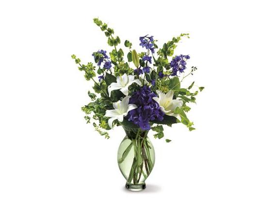 Teleflora's Green Inspiration Bouquet