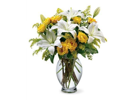 Teleflora's Pure Inspiration Bouquet (07R210B)