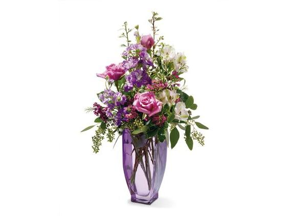 Teleflora's Amethys Morning Bouquet (07R330B)