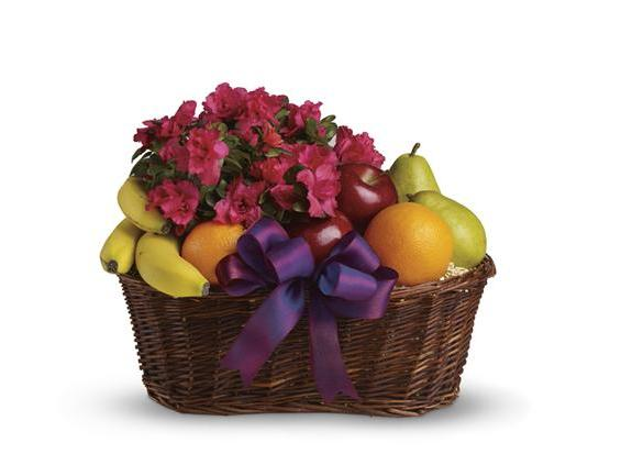 Fruits and Blooms Basket (T107-3A)