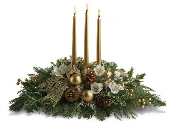 Royal Christmas Centerpiece (T131-3A)