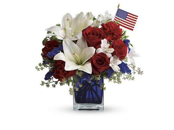 America the Beautiful by Teleflora (T163-2A)