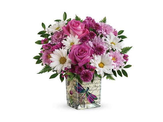 Teleflora's Wildflower In Flight Bouquet (T18M400A)