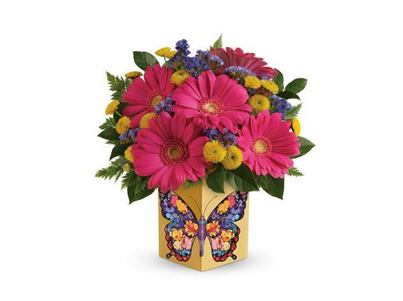 Teleflora's Wings Of Thanks Bouquet (T18S105A)