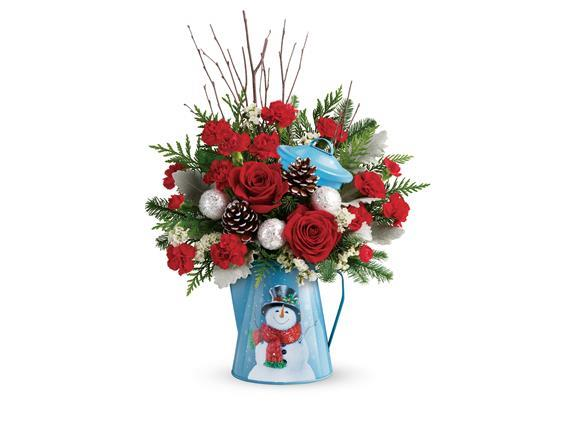 Teleflora's Snowy Daydreams Bouquet (T18X300A)