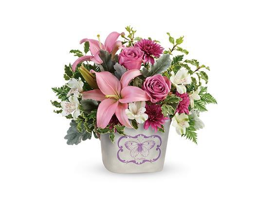 Teleflora's Monarch Garden Bouquet (T19M200A)