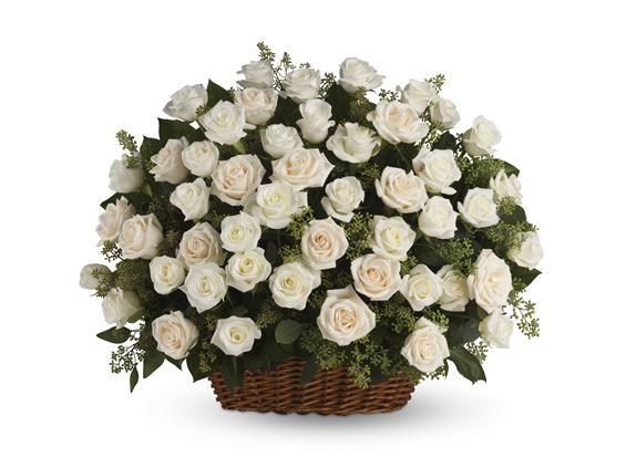 Bountiful Rose Basket (T233-1A)