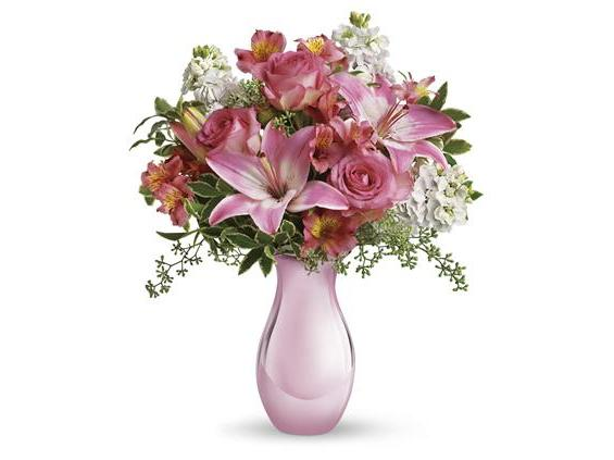 Teleflora's Pink Reflections Bouquet