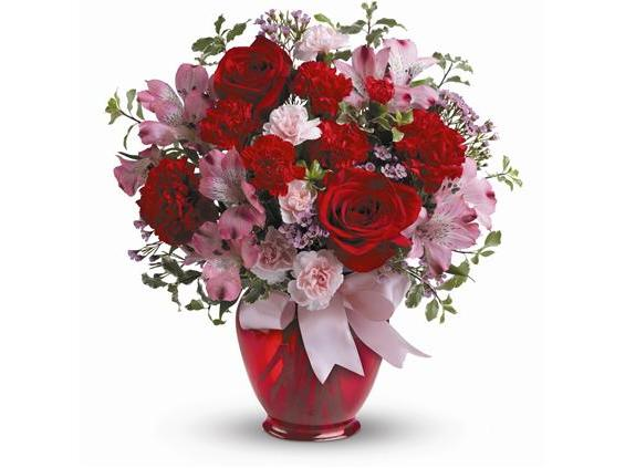 Teleflora's Blissfully Yours Bouquet (TEV38-2A)